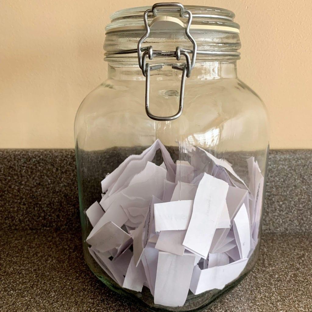 30-day Challenge Jar