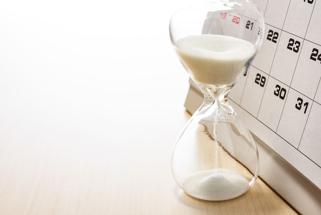 Time Hourglass and Calendar